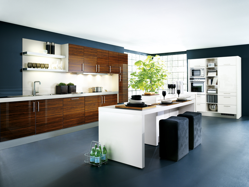 Modern Kitchen And Improve Kitchen And Bathroom Home Improvement